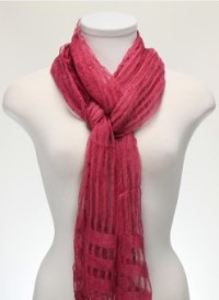 Fuschia Leight Weight Scarf