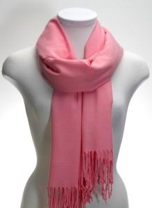 pink pashmina shawl pink scarf